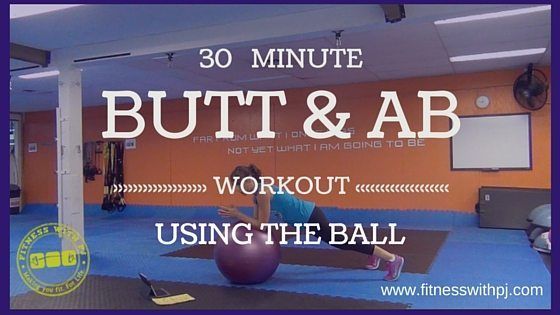 Butt & Ab Workout on the Ball