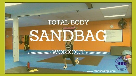 Total Body Sandbag Workout