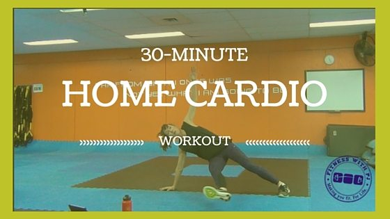 30-Minute Home Cardio Workout