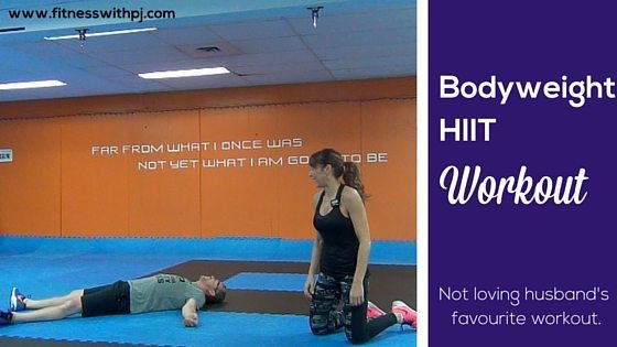 35-Minute Bodyweight HIIT Workout