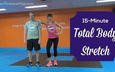 15-Minute Total Body Stretch