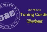 20-Minute Toning Cardio Workout