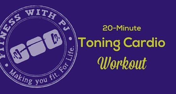 20-Minute Toning Cardio Workout