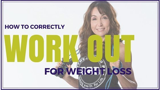 How to Correctly Workout for Weight Loss