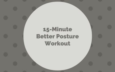 15-Min Better Posture Workout