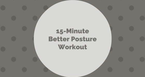 Better Posture Workout