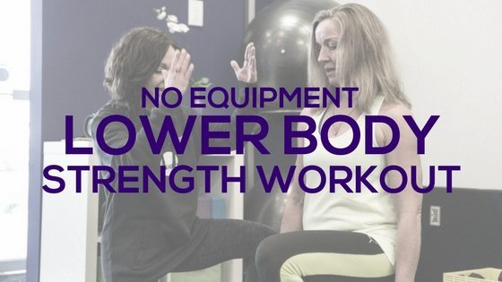 No Equipment Lower Body Strength