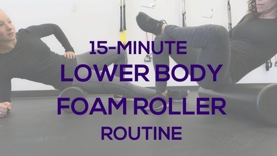 15-Min Lower Body Foam Roller Workout