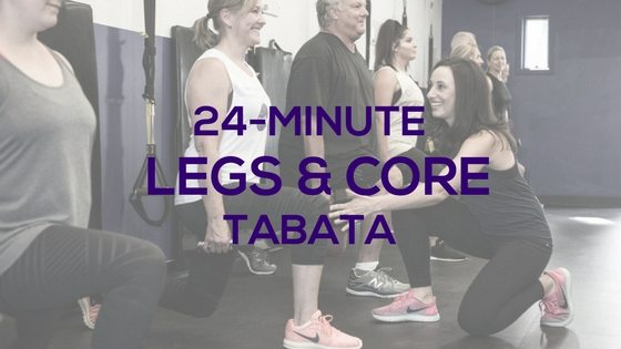 Legs and Core Tabata