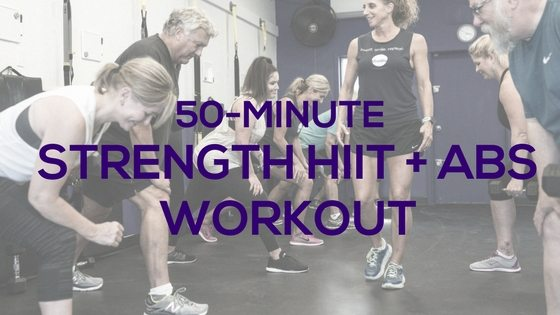 50-Minute Strength HIIT & Abs Workout