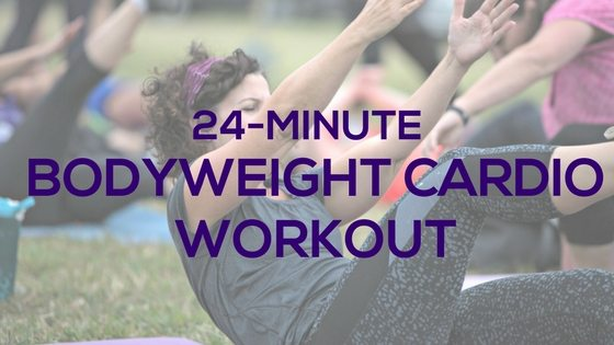 24-Min Bodyweight Cardio