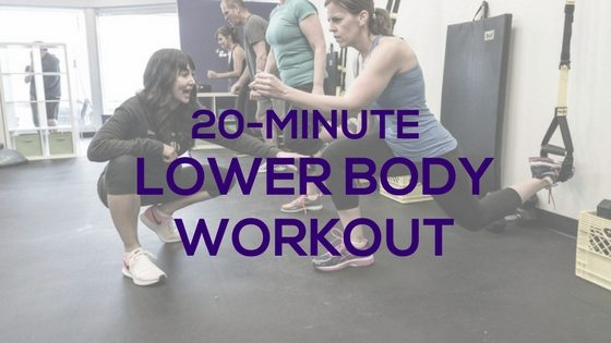 20-Minute Lower Body Burn