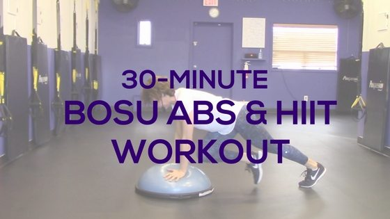 BOSU Ball Ab & HIIT Workout
