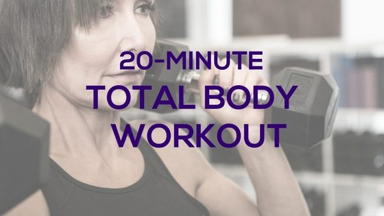 20-Minute Total Body Workout with Dumbbells