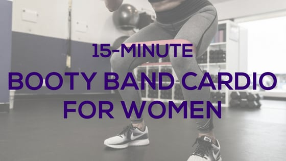 15-Minute Booty Band Cardio