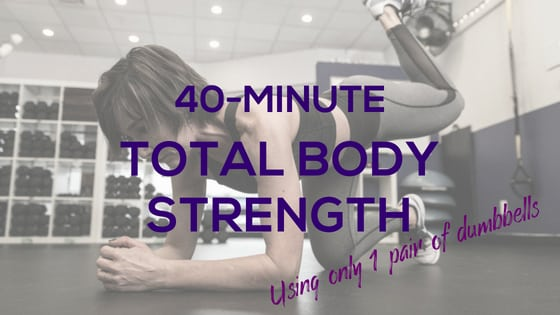 40-Min Total Body Strength