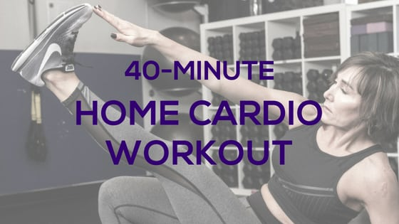 40-Min Home Cardio Workout