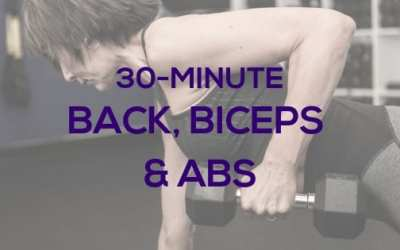 Back, Biceps & Abs with Dumbbells