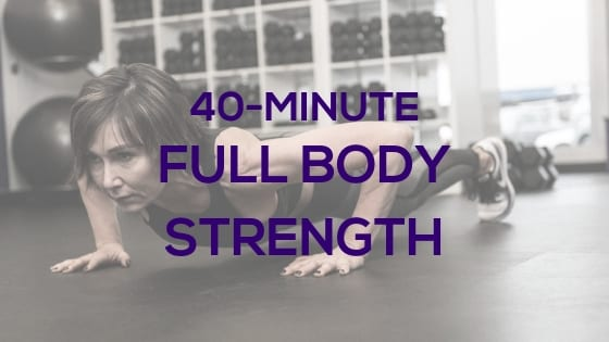 40-Minute Full Body Workout