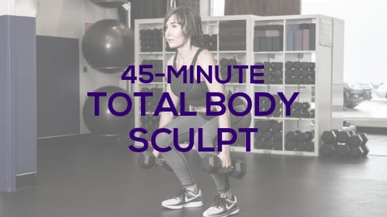 50-Minute Total Body Sculpt