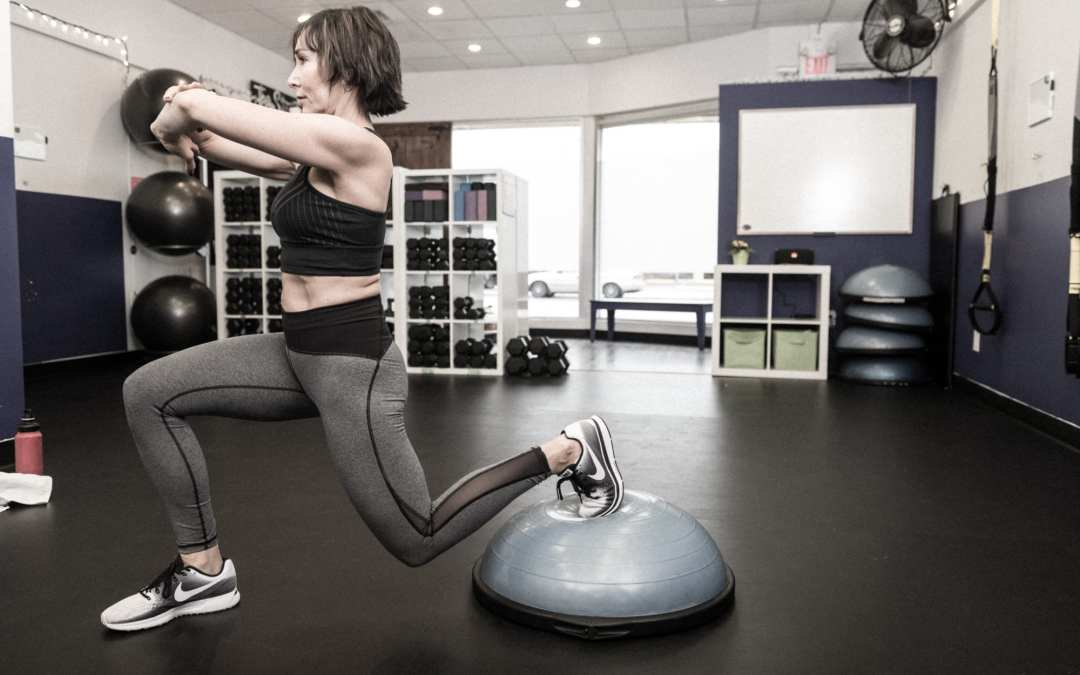 BOSU Ball Workout for the Legs