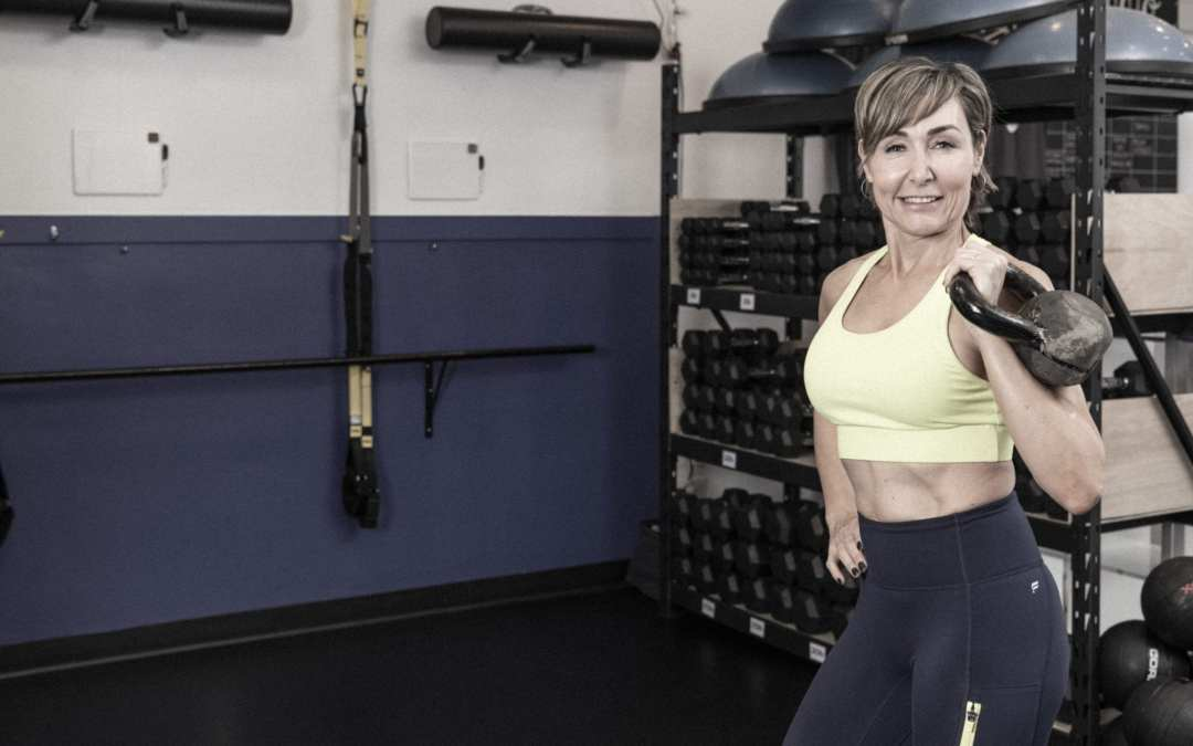 Kettlebell Cardio for Women Over 40