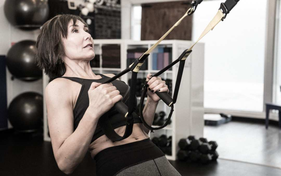 TRX Upper Body Tabata-Type Workout Women Over 40