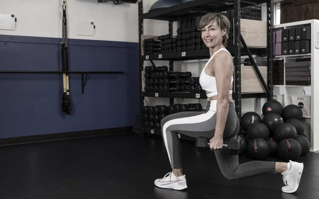 Quads and Abs Workout with Dumbbells for Women Over 40