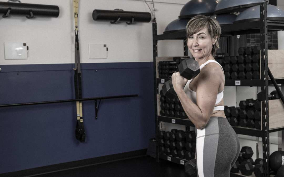 Back, Biceps & Shoulders Workout with Dumbbells for Women Over 40