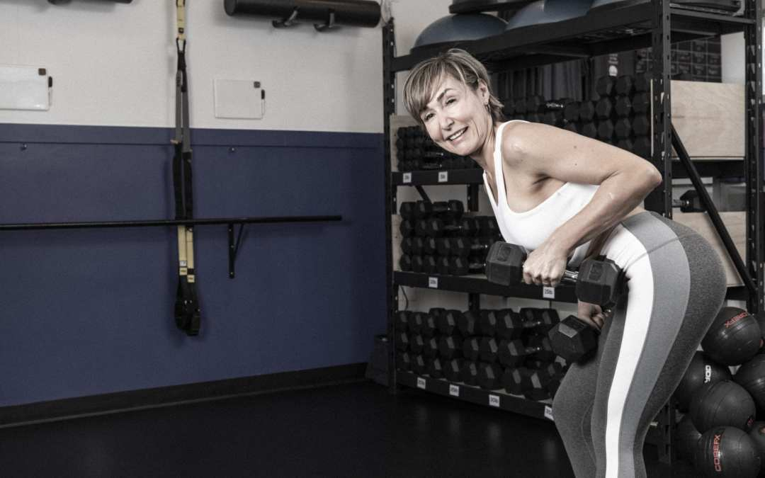 Chest and Triceps Workout with Dumbbells for Women Over 40