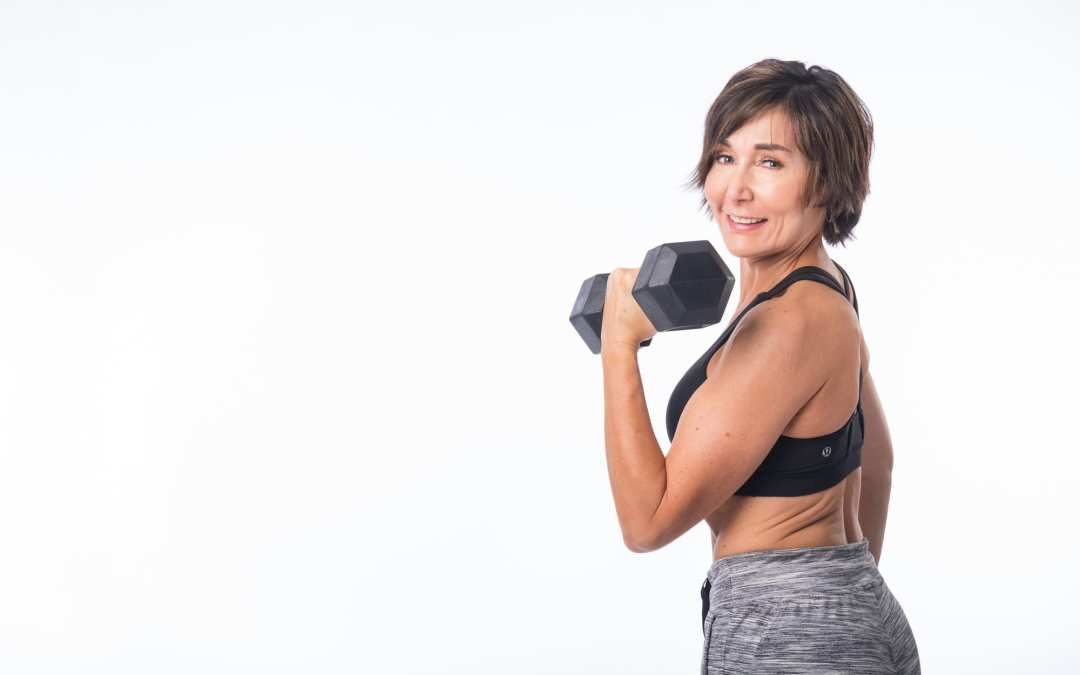 Dumbbell & Stability Ball Workout