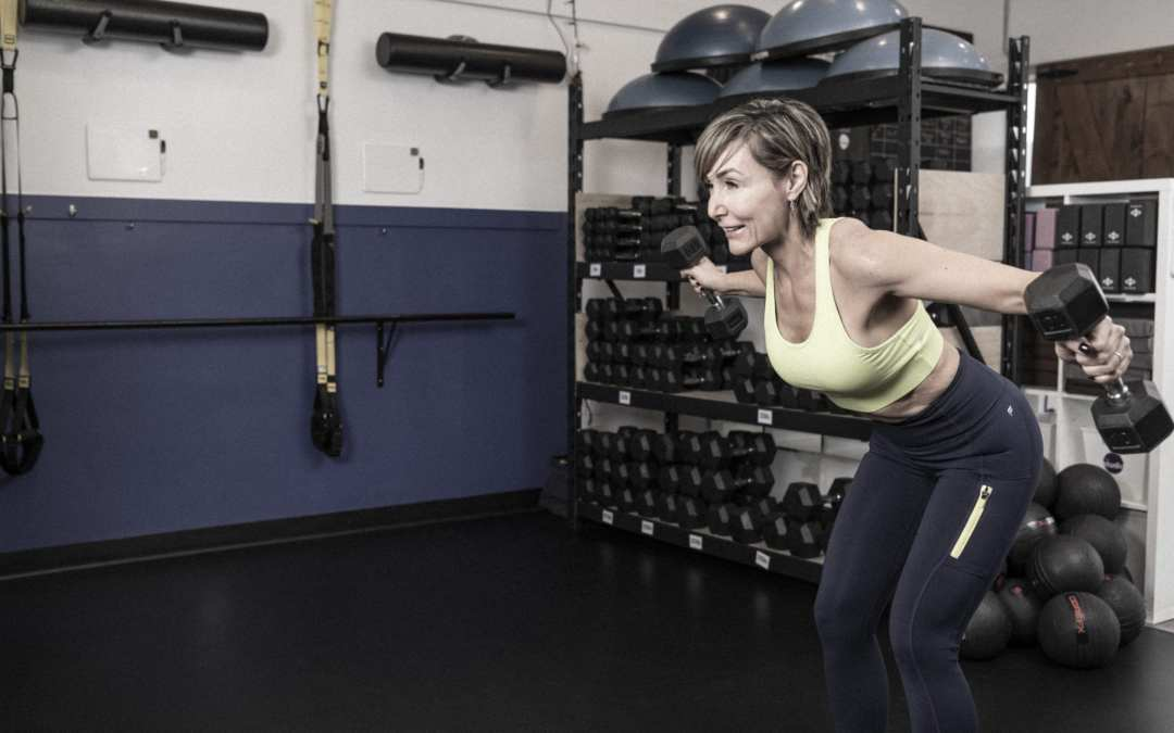 30-Minute Burn Circuit with Dumbbells