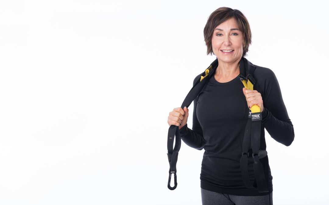 TRX Sweat & Stretch Cardio Workout for Women Over 40 [LOW OR HIGH IMPACT]