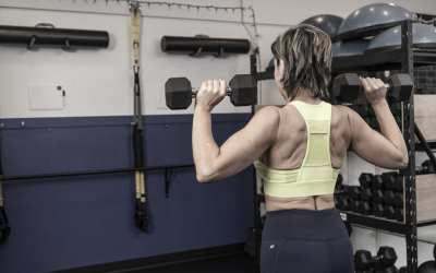 Dumbbell Shoulder Finisher for Women Over 40