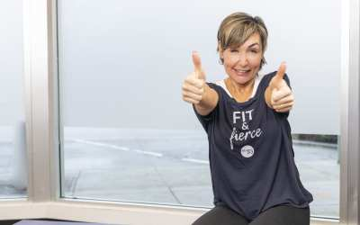High & Low Impact Cardio Finisher for Women Over 40