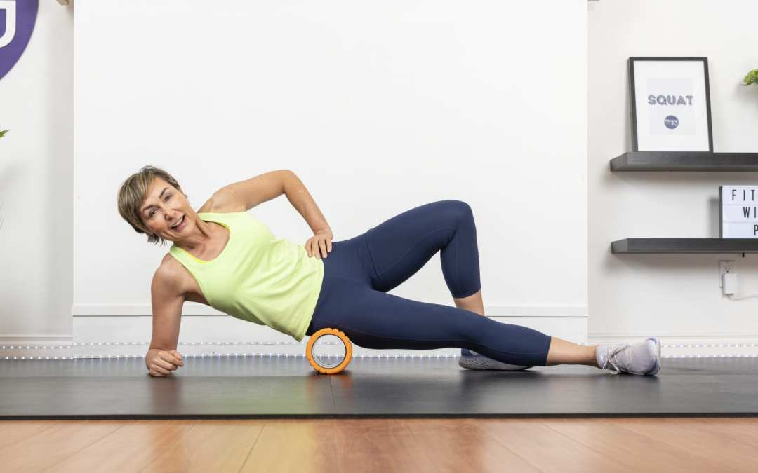 Foam Rolling & Stretches For Recovery for Women Over 40