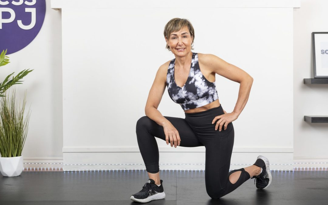 Low Impact Ladder HIIT Cardio Workout  with No Jumping for Women Over 40