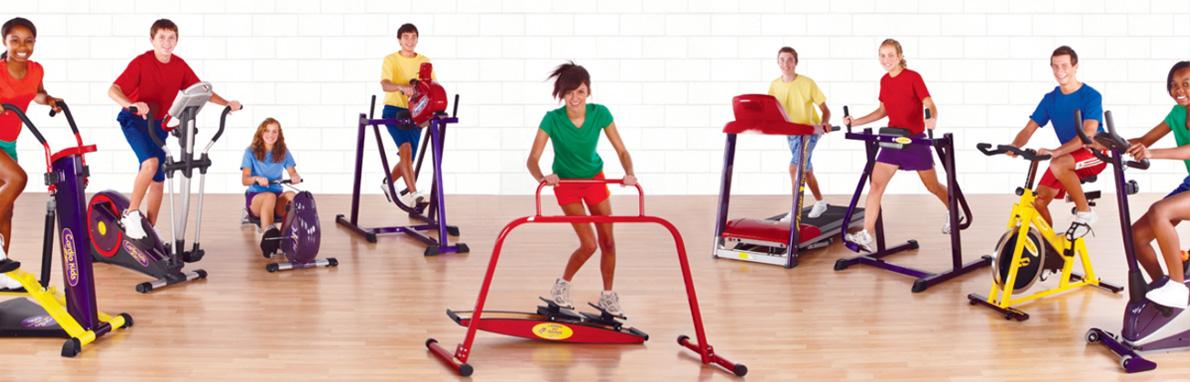 Kidsfit 300 Junior Strength 14 Station Circuit Fitnesszone