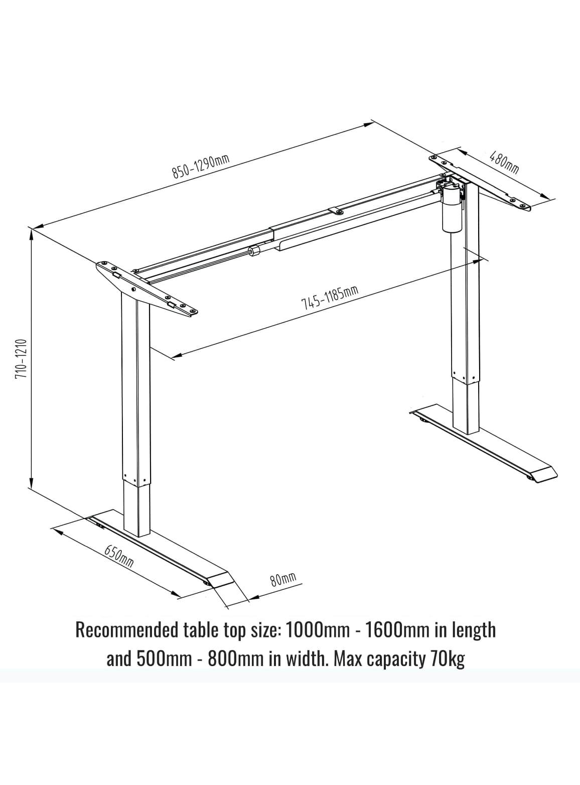 Sierra Standing Desk Starter Electric Standing Desk Fitnest Europe Standing Desks