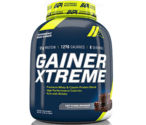 API Gainer xtreme 6lb Hot fudge brownie - Fit & Fab Nutrition