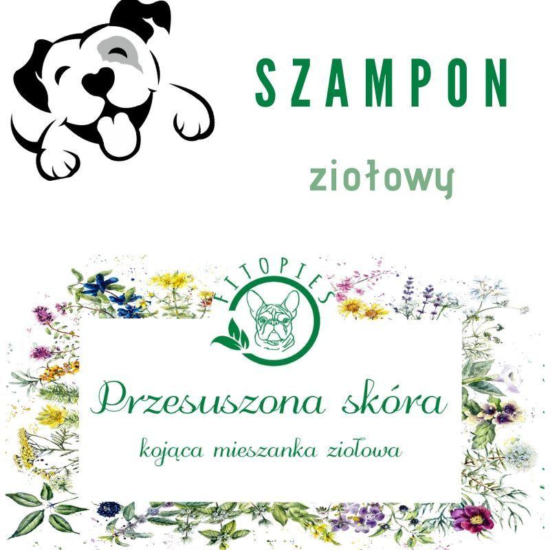 szampon dla psa z suchą skórą
