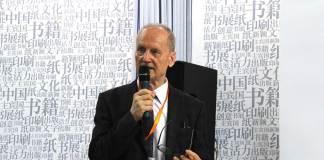 Constantin Lupeanu la Târgul de Carte Beijing, august 2016 © foto ICR