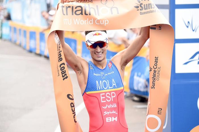 Mario Mola (ESP) vince a Mooloolaba