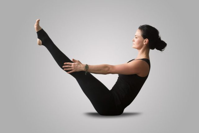 Boat-Pose-Yoga for Hip Ache