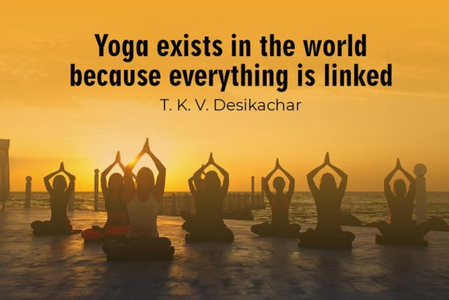 Inspirational Yoga Quote - Yoga exists in the world