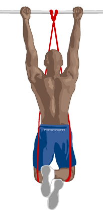 Image result for upper body chin up exercise