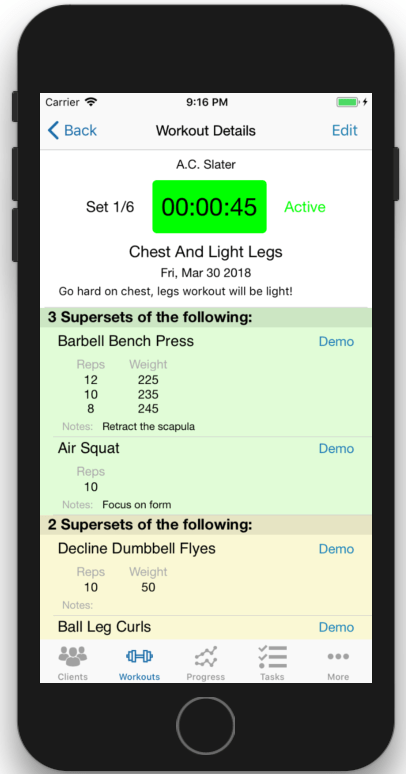 Interval Timer App Personal Trainers Active