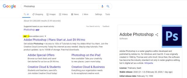 Google Ads Example Image