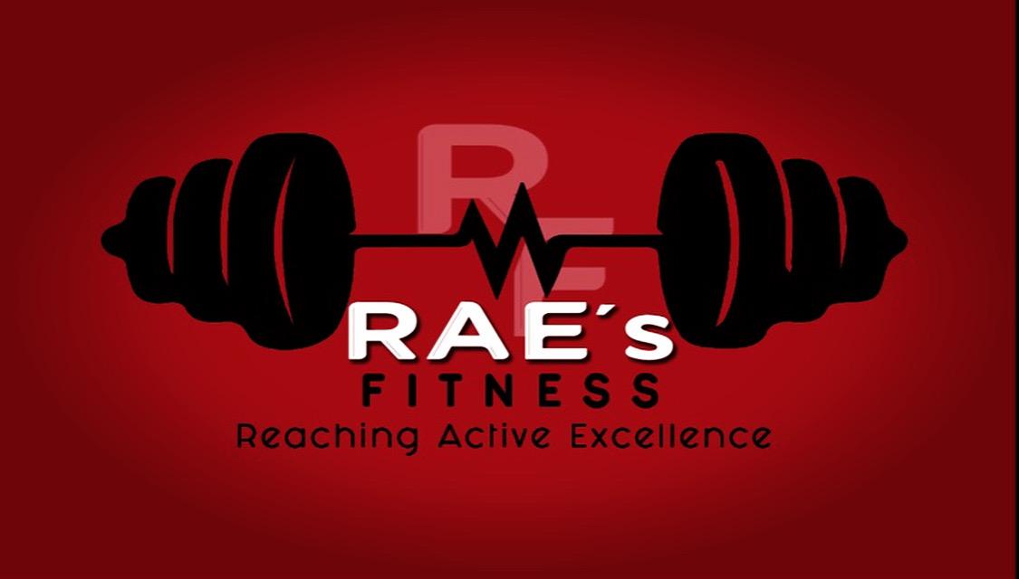 Rae's personal training logo