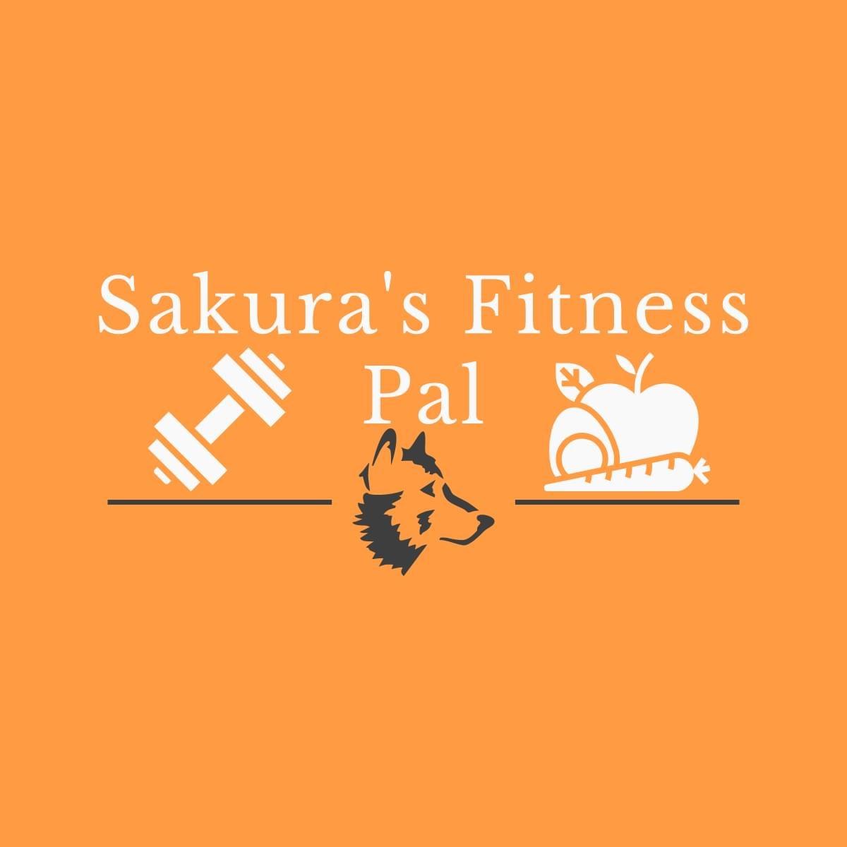 Sakura's Fitness Pal Logo